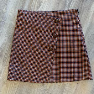 Plaid skirt Urban Outfitters